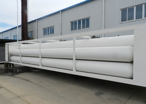 Large Volume CNG Gas Cylinder Group 4130Q Material 914mm 715mm 559mm Length